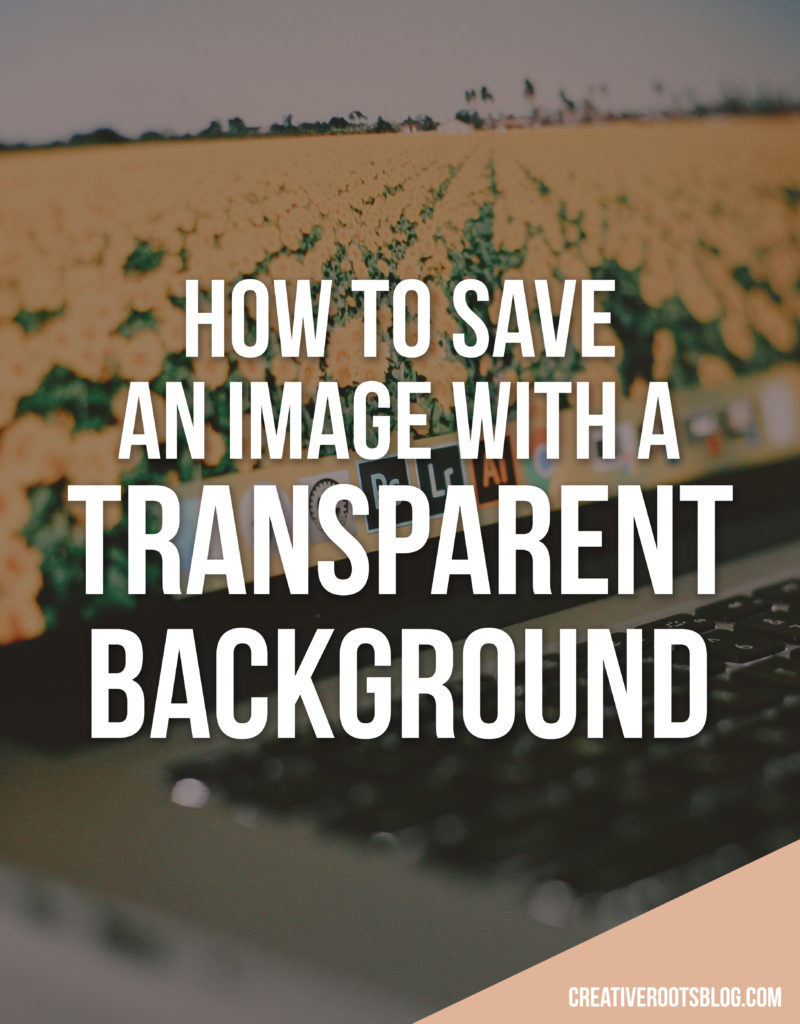 save pdf with transparent background photoshop